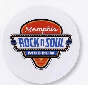 Memphis Rock and Roll Museum Frisbee