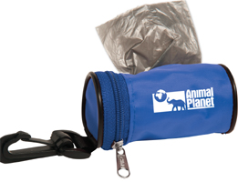 logo'd  dog poop bag