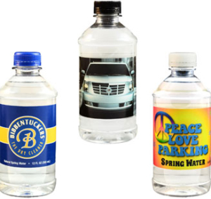 The absolute best vlaue, lowest price custom water bottles, quality water and full color custom label