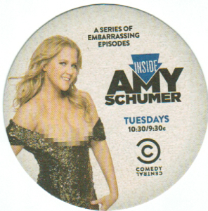 Amy Schumer Coaster