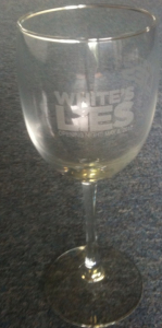 Lies Wine Glass copy