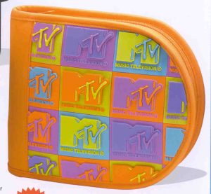 MTV CD Holder